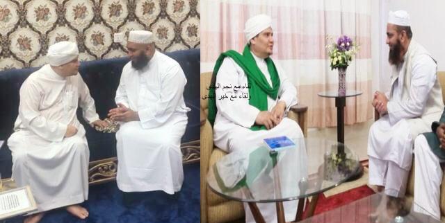 Khairul Huda Khan & Najmul Huda Khan with Shaykh Muhammad Abdullah al-Aydaroos